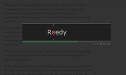 Reedy — читай быстрее!